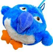 Pelúcia de Mecanismo Pássaro Maluco com Som e Vibração Blue Bird