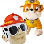 Pelúcia Patrulha Canina Mais Óculos De Sol Proteção Uv-400