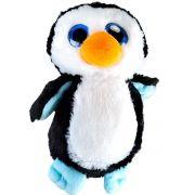 Pelúcia Pinguim Grandes Olhos Pop