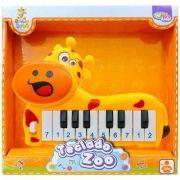 Pianinho Musical Girafinha Teclado Zoo Brinca Bebê Well Kids