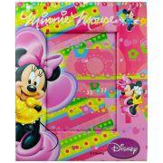 Porta Retrato Infantil Minnie Cartonado Disney 10x15