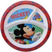 Prato com Divisória Infantil Mickey Disney - Gedex