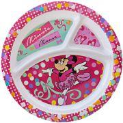 Prato com Divisória Infantil Minnie Disney - Gedex