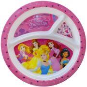 Prato com Divisória Infantil Princesas Disney - Gedex
