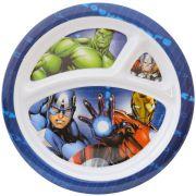 Prato com Divisória Infantil Vingadores Marvel - Gedex