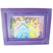 Quadro de Mesa Decorativo Infantil Princesas Disney