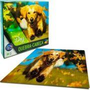 Quebra Cabeça Cachorro 100 Peças - Pais e Filhos