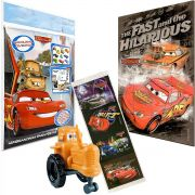 Trator Personagem Carros Disney  + Quebra cabeça + Posters e Adesivo