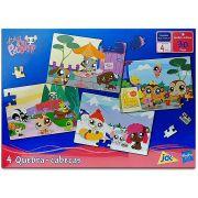 Quebra Cabeça Puzzles 4 x 30 Peças Littlest Pet Shop - Hasbro