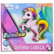 Quebra Cabeça Unicórnio Rainbow 150 Peças - Pais e Filhos
