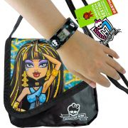 Relógio Digital Bracelete Monster High Mais Bolsa Cleo