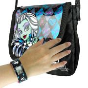 Relógio Digital Bracelete Monster High Mais Bolsa Frankie