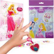 Sacolinha Surpresa  Aurora com Chaveiro Princesas Disney + 4 Itens