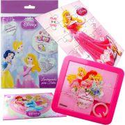 Sacolinha Surpresa Aurora com Quebra-Cuca Princesas Disney + 4 Itens
