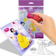 Sacolinha  Surpresa  Branca de Neve com Borracha Princesas Disney + 4 Itens