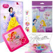 Sacolinha  Surpresa Branca de Neve com Quebra-Cuca Princesas Disney + 4 Itens