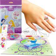 Sacolinha Divertida Cinderela Com Anel Princesas Disney +4 Itens