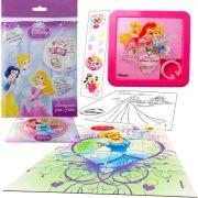 Sacolinha Divertida Cinderela com Quebra-Cuca Princesas Disney + 4 Itens