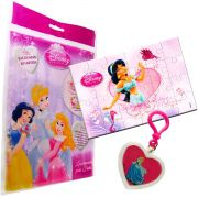 Sacolinha Divertida Jasmine com Chaveiro Princesas Disney