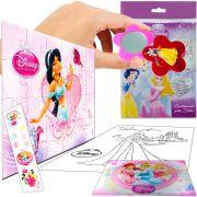 Sacolinha Divertida  Jasmine com Espelho Princesas Disney + 4 Itens