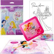 Sacolinha Divertida Jasmine com Quebra-Cuca Princesas Disney + 4 Itens