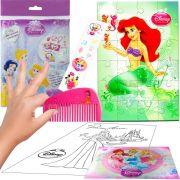 Sacolinha Divertida Sereia Ariel com Pente Princesas Disney