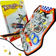 Skate De Dedo E Moto Racer Extremos E Radicais Sobre Rodas