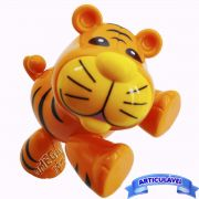 Tigre Articulado Brinquedo para Bebê Coleção Animais - CKS