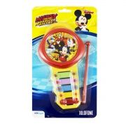 Xilofone Musical Mickey 5 Teclas de Metal Coloridos Disney