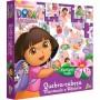 Quebra Cabeça Montando o Alfabeto Português - Inglês Dora a Aventureira - Toyster