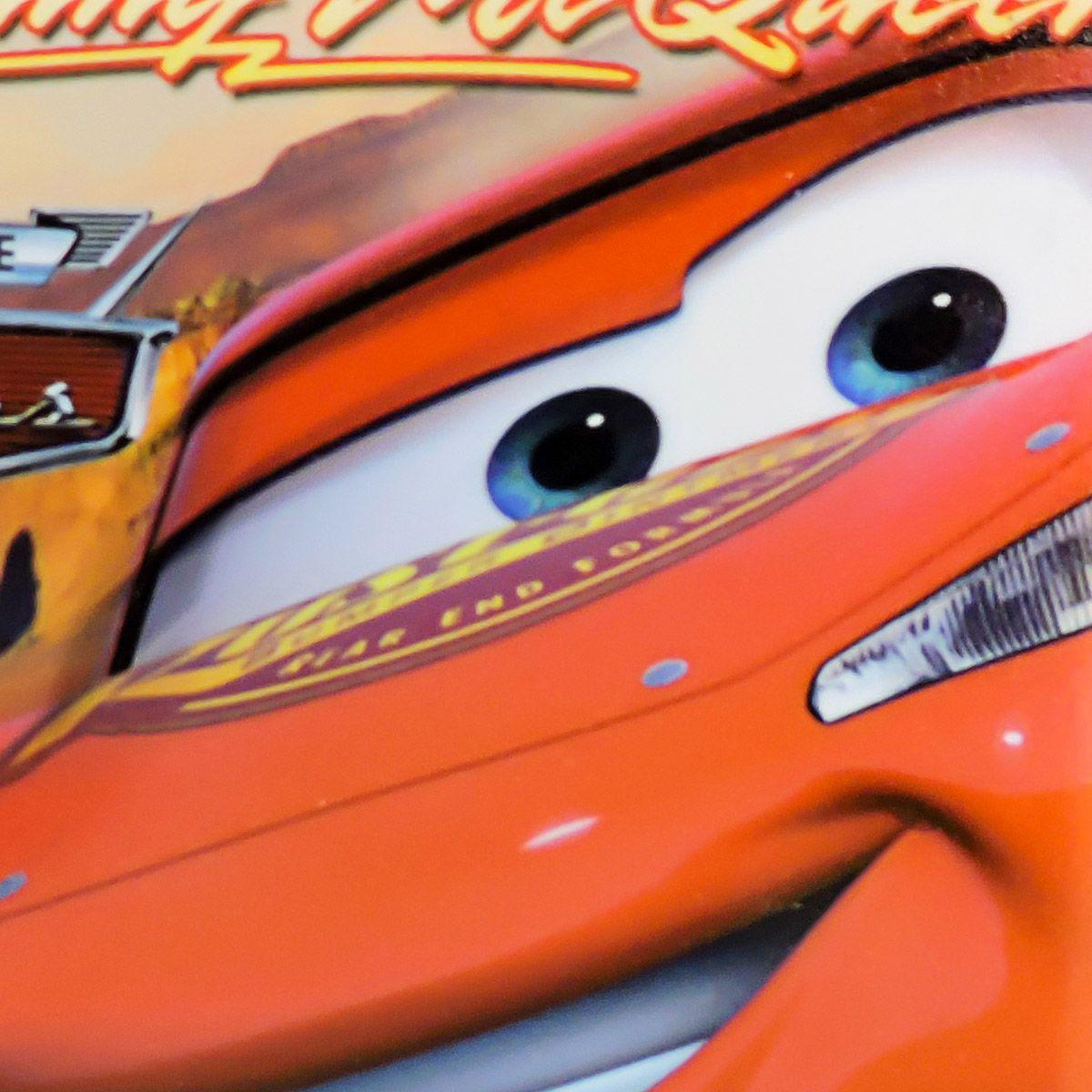 Bloco de Notas Relâmpago McQueen Carros Disney