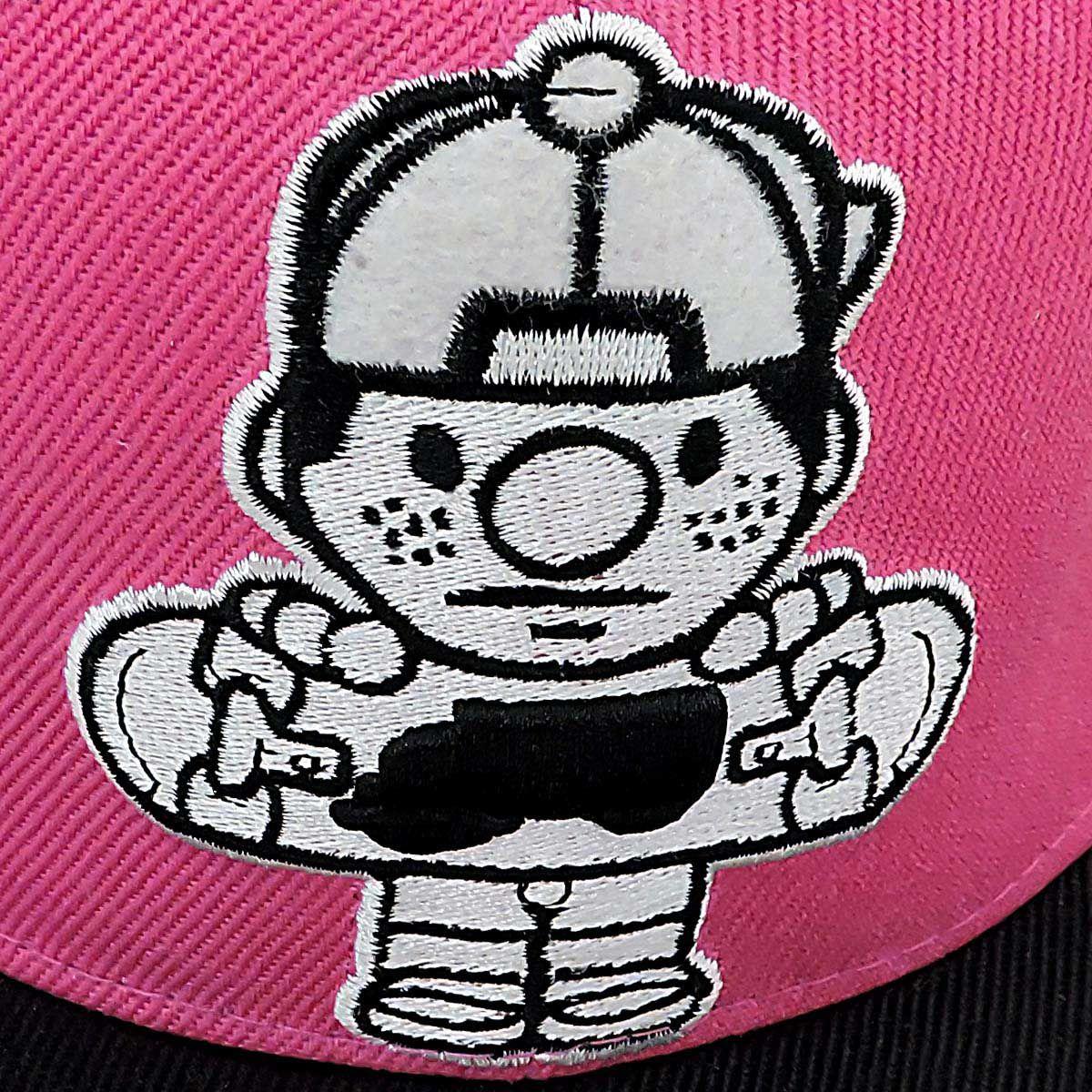 Boné Aba Reta Importado Skate Radical Snapback Black Tiger