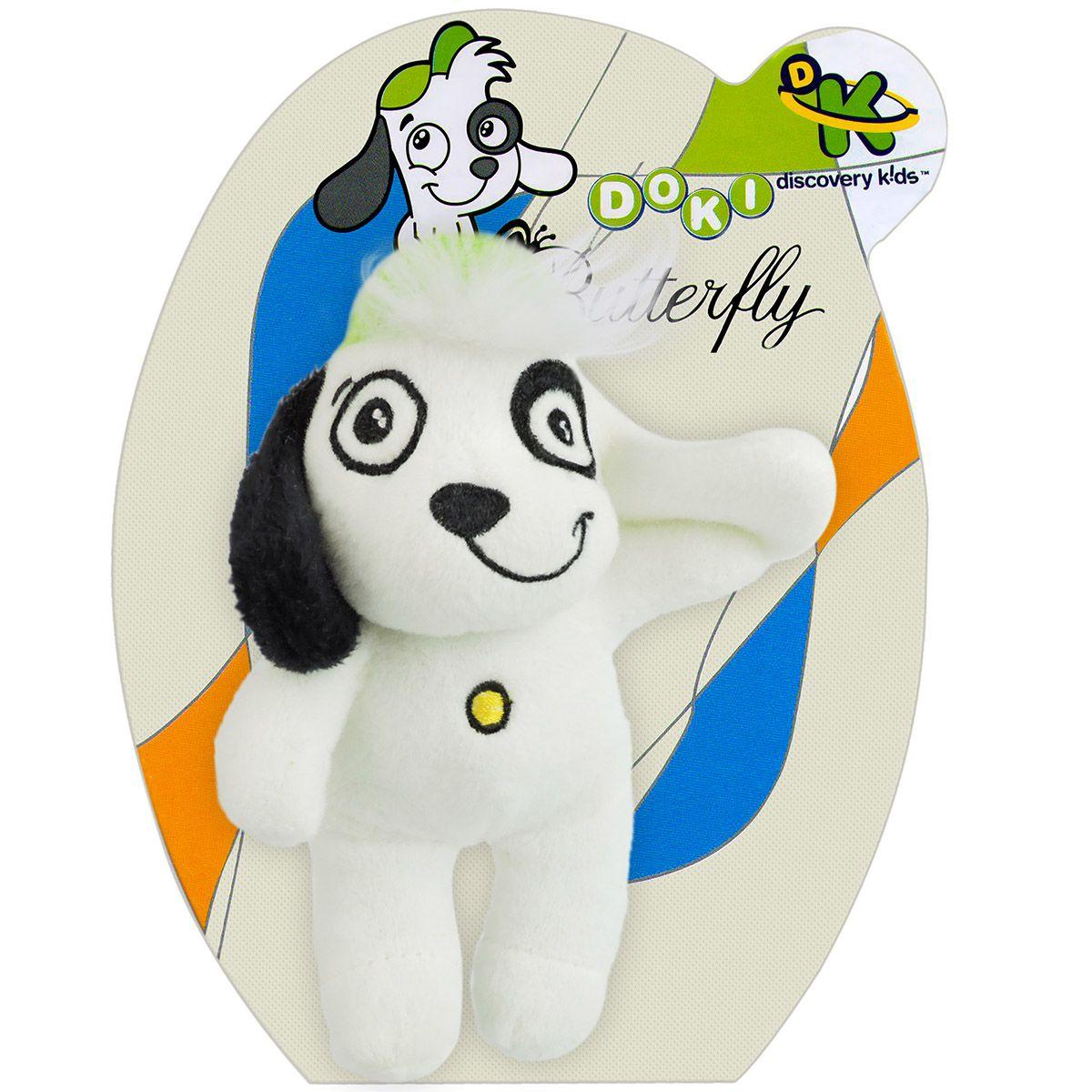 Boneco De Pelúcia Cachorro Doki Discovery Kids Feliz