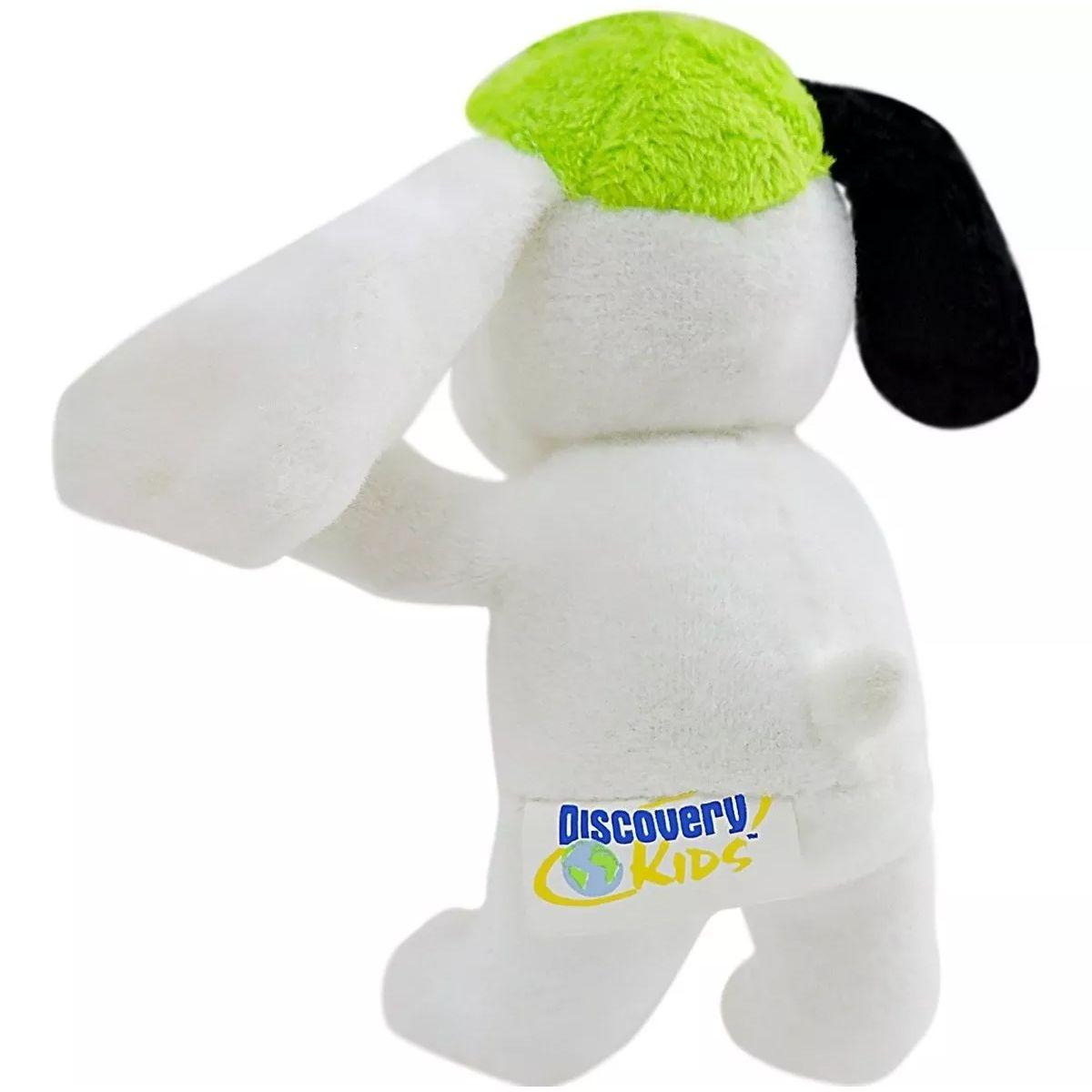 Pelúcia Cachorro Doki Discovery Kids Mascote