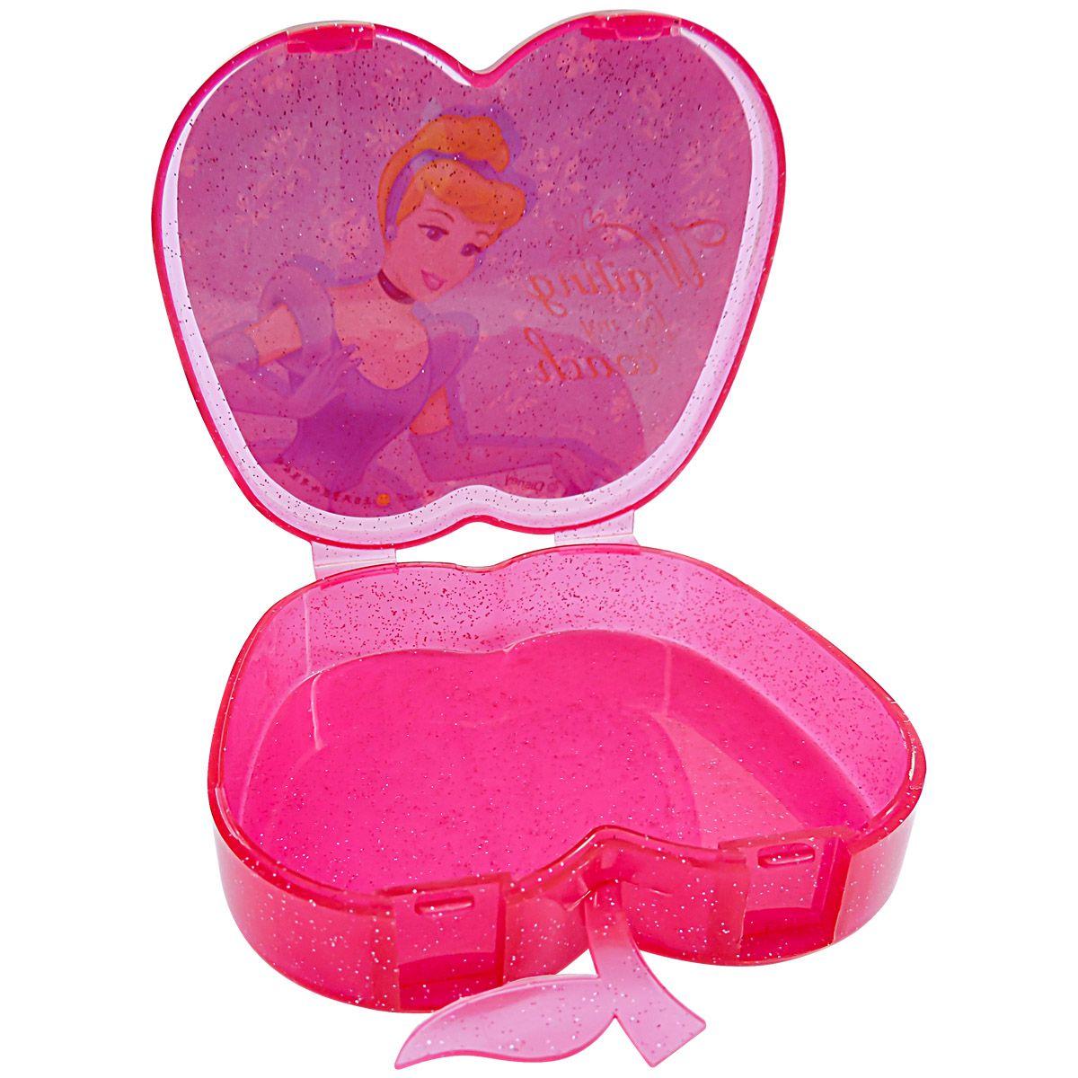 Coleção com 100 Mini Adesivos Princesas Disney mais Porta Adesivos Cinderela