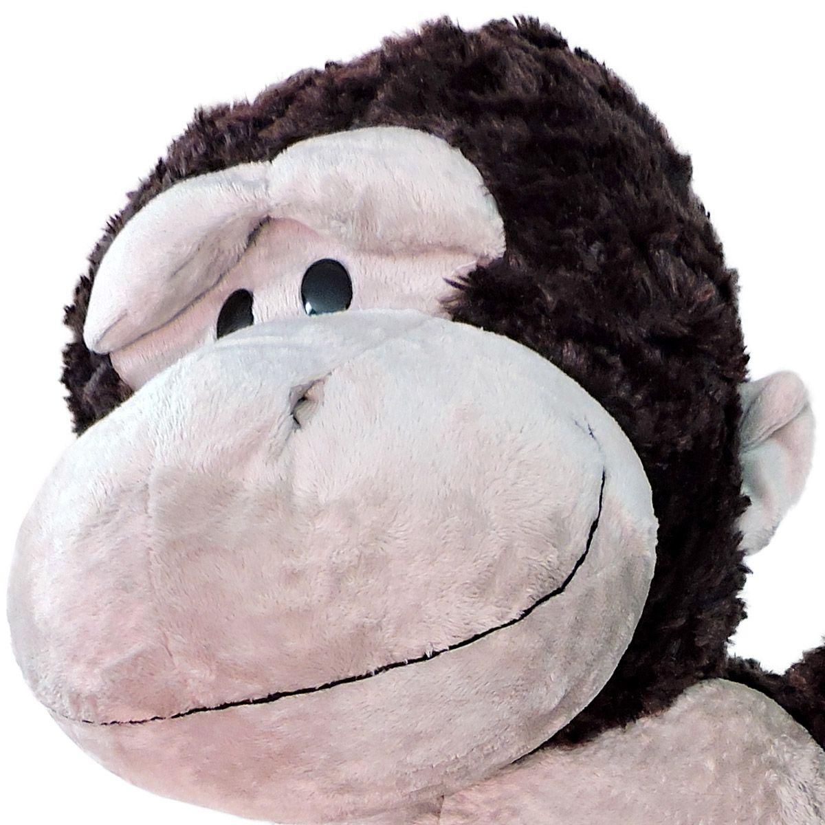 Gorila de Pelúcia Macia Grande 77 cm  Importado