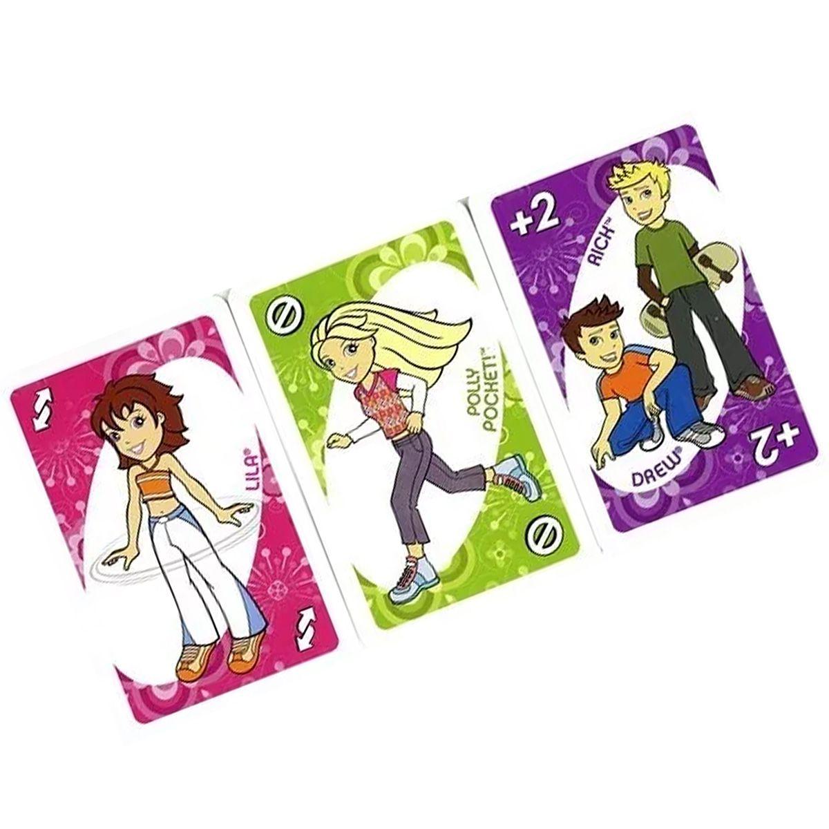 Jogo de Cartas Uno Polly Pocket Mattel