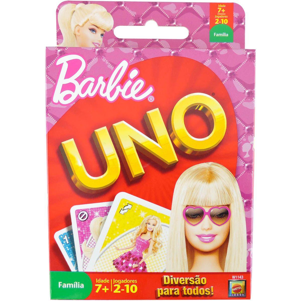 7047740d1e Jogo Uno Barbie - Mattel - Omega Toys