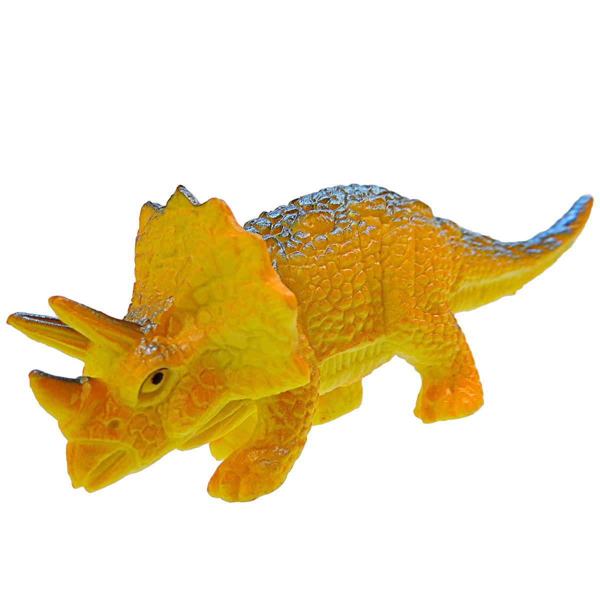 Kit 6 Dinossauros Animais Jurássicos mais 6 Acessórios