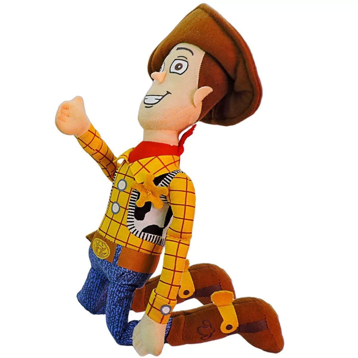 Kit Especial Pelúcias Livro E Boneco Woody Toys Story
