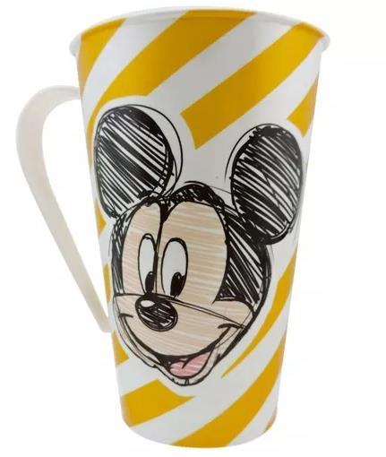 Kit Refeição Infantil Tigela Caneca e Jogo Americano Mickey e Minnie Disney