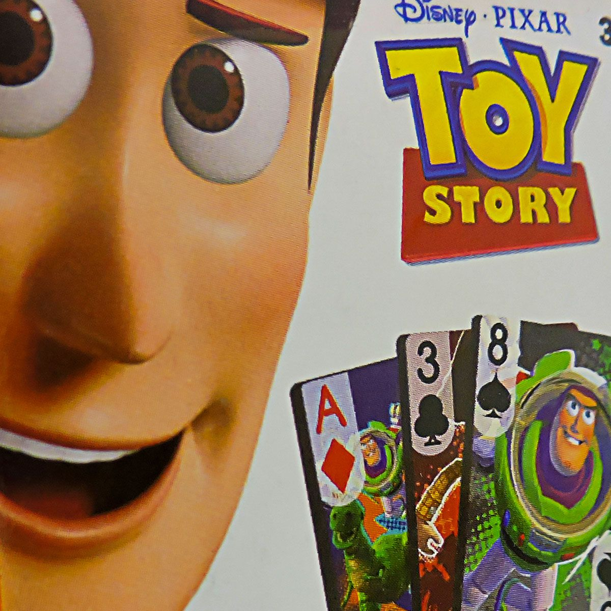 Festa Lembrancinha 12 Unidades Mini Baralho Toy Story Disney