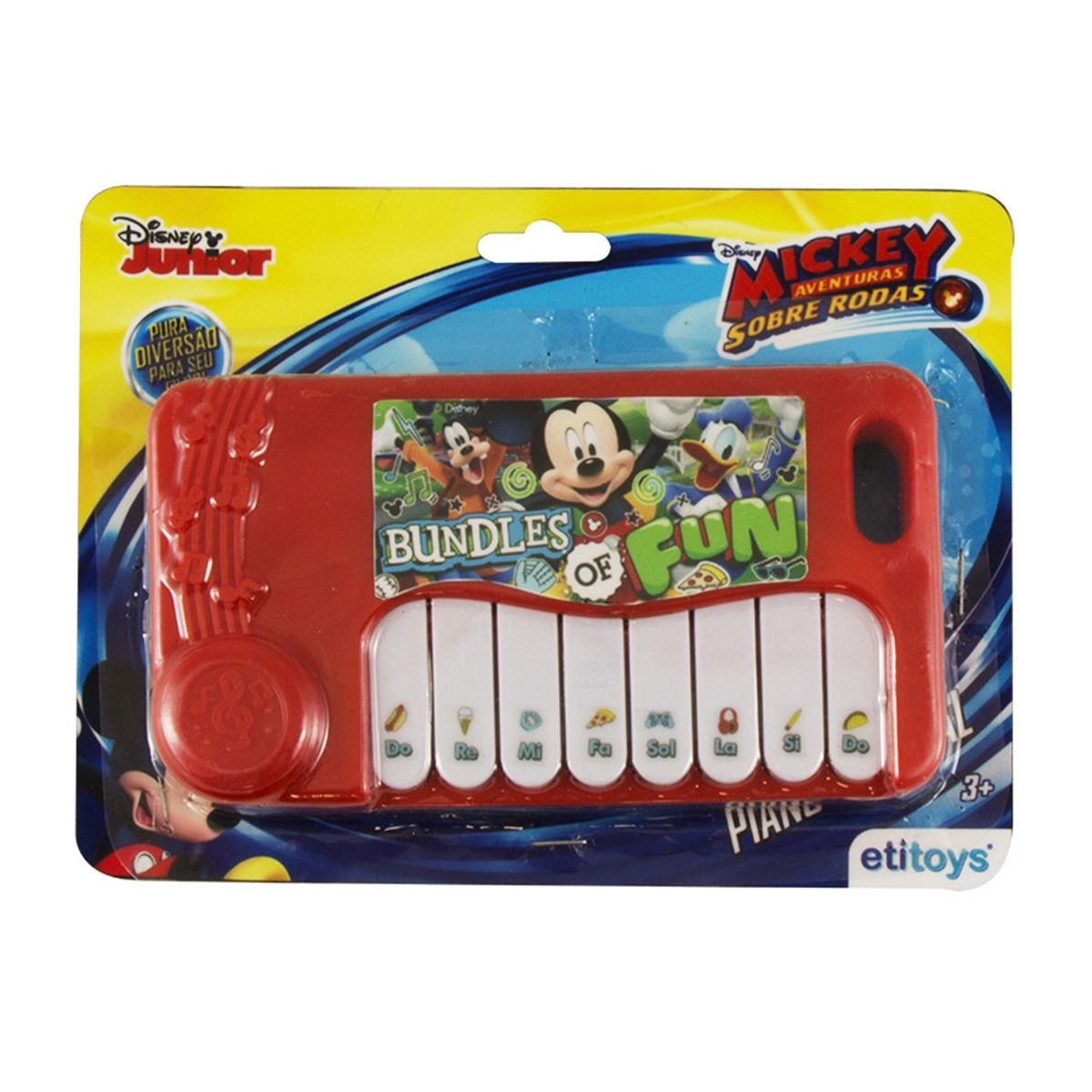 Mini Piano Musical Infantil Mickey Disney
