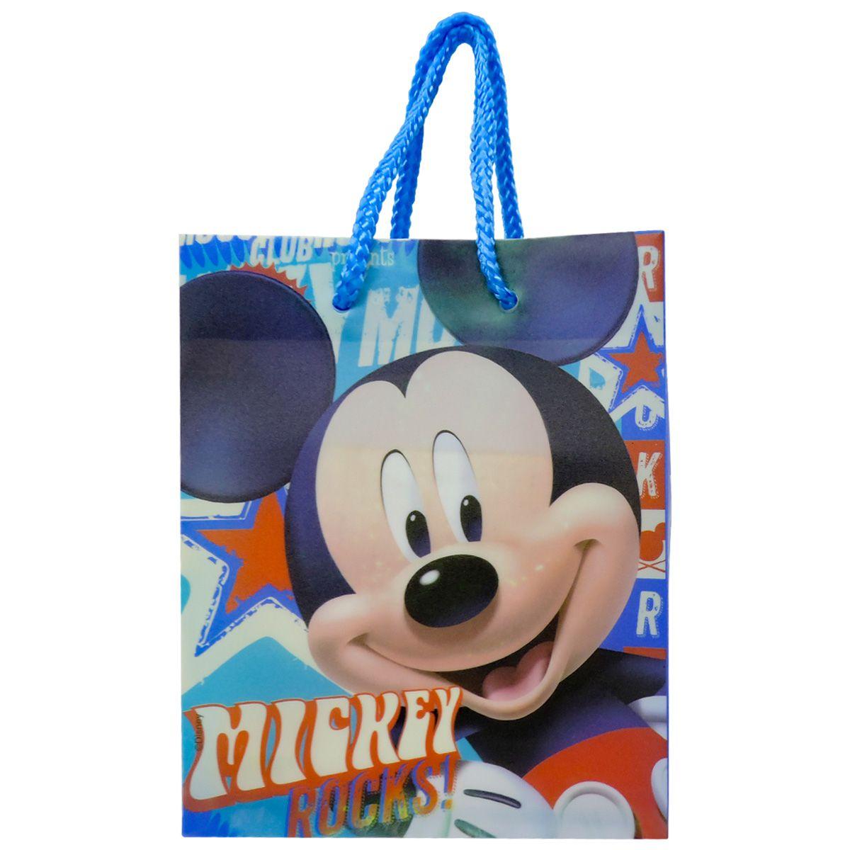 Sacola Mickey Mouse 15 unidades Lembrancinha Aniversário