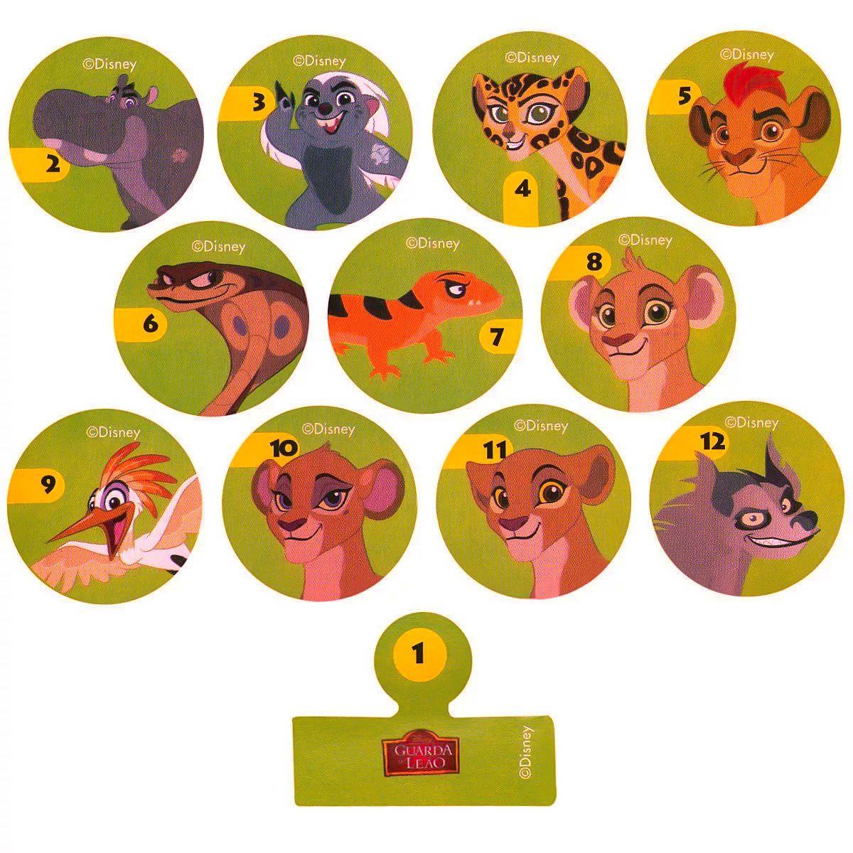 Miniatura Simba E Jogo Futebol De Botão A Guarda Do Leão Rei Leão Disney Junior