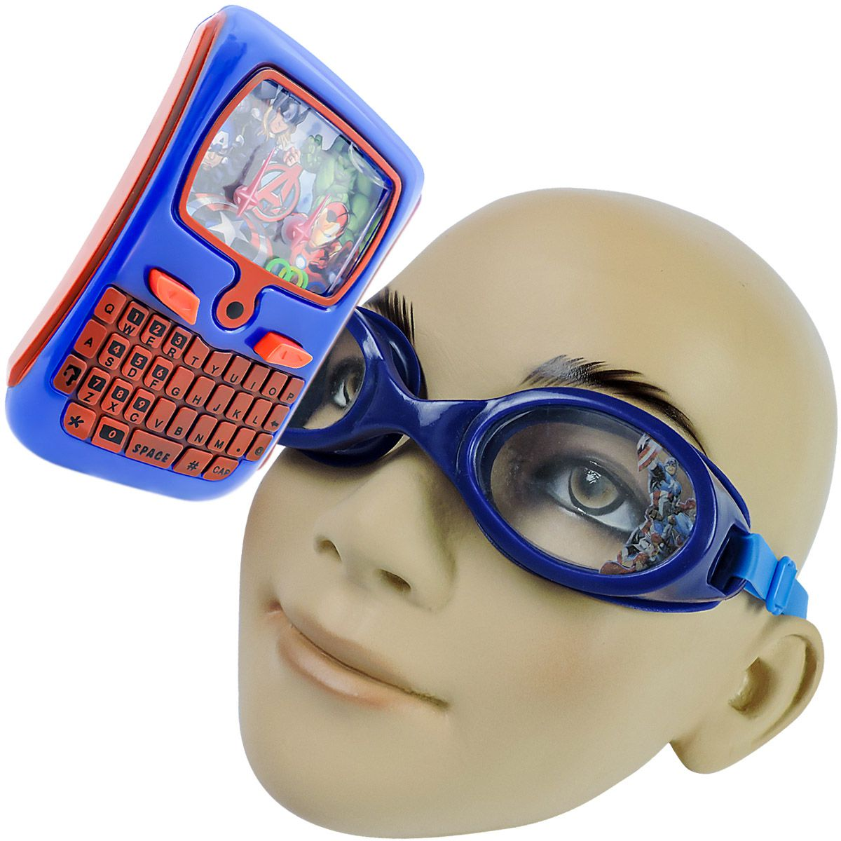 ef7854544 Óculos de Natação Infantil mais Aquaplay Vingadores - Omega Toys