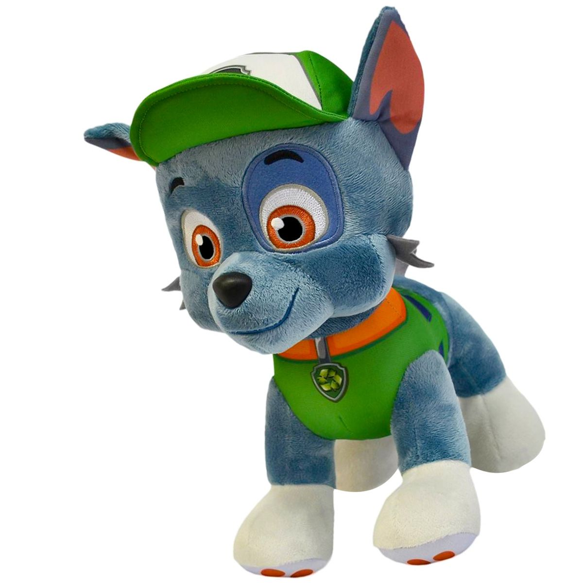 Patrulha Canina Pelúcia Rocky com Quebra-cabeça Littlest Pet Shop