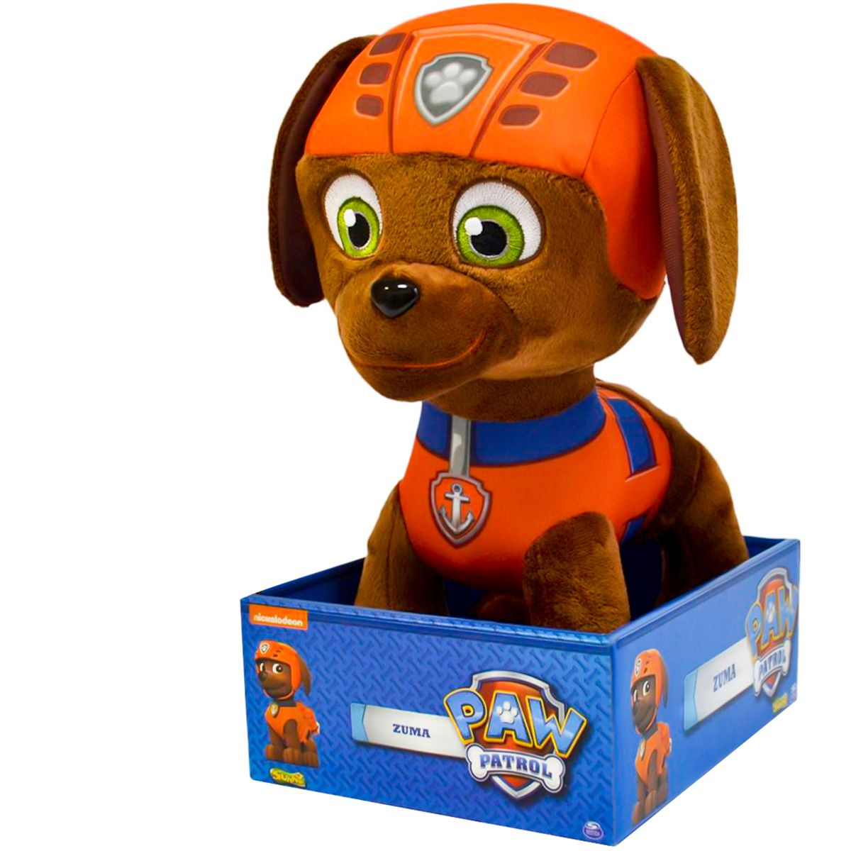 Patrulha Canina Pelúcia Zuma com Quebra-cabeça Littlest Pet Shop