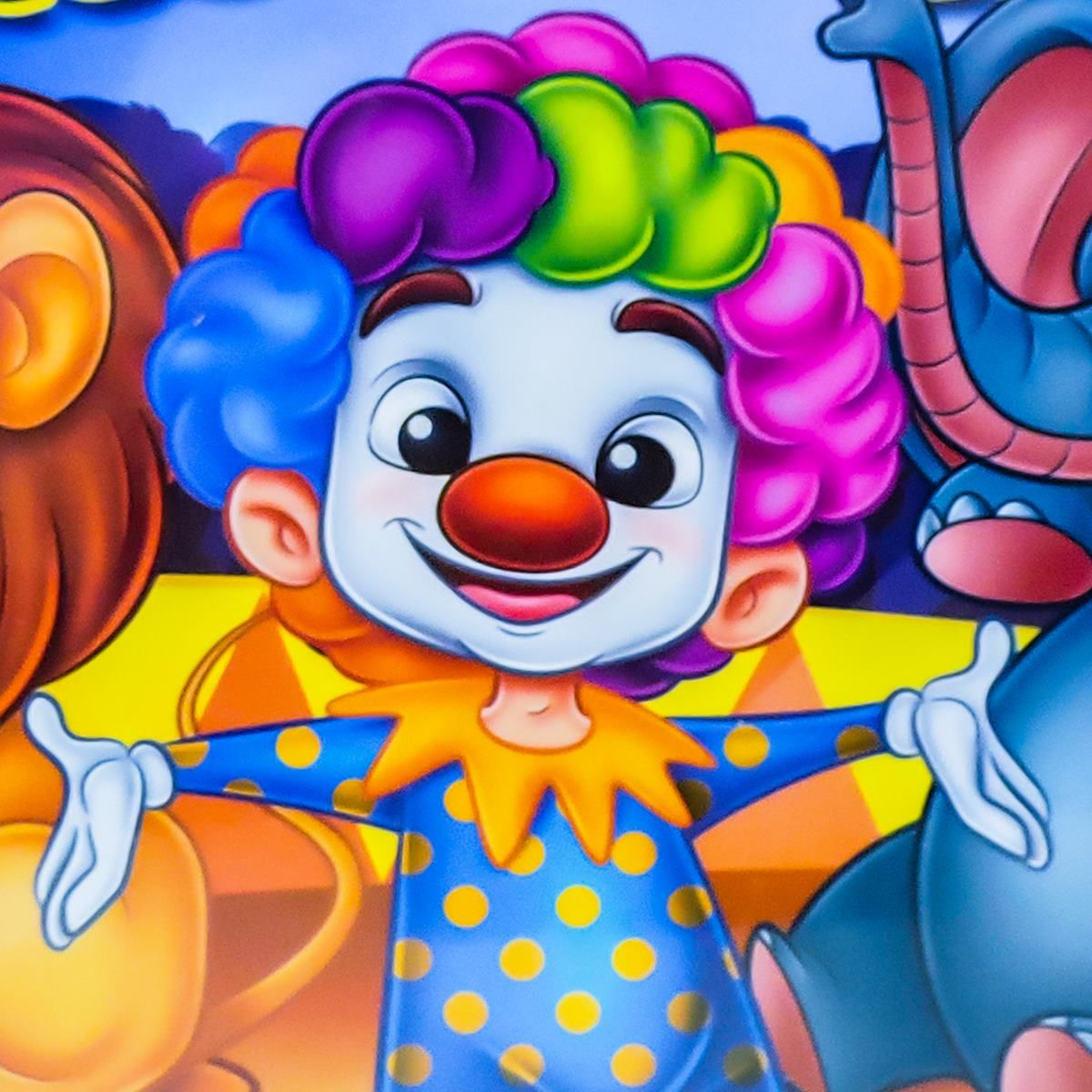 Quebra Cabeça Circo 100 Peças - Pais e Filhos