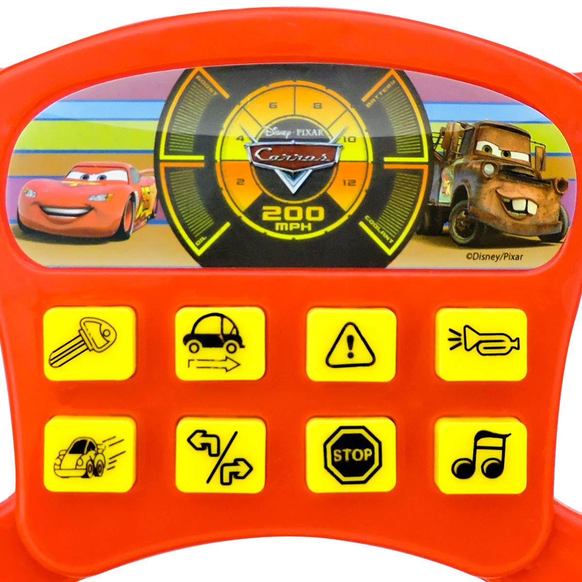 Volante Musical Infantil Carros Disney